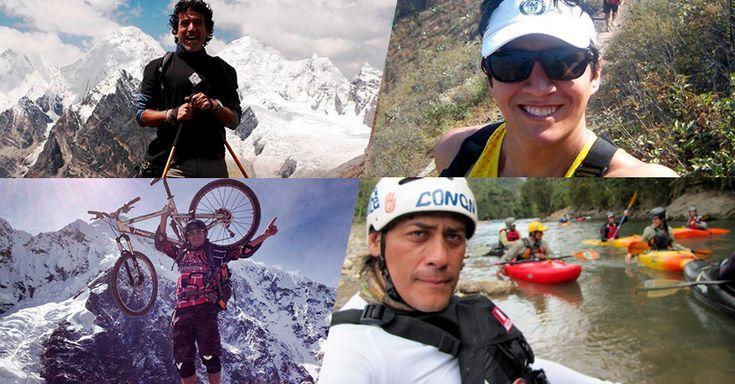 Comunicadores o deportistas profesionales que además de practicar deportes de aventura, nos comparten sus experiencias y valiosos consejos.