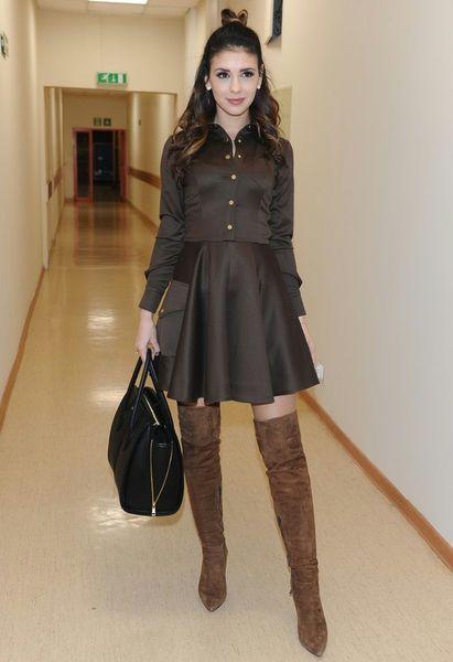 """Pierwsza miłość"""": Klaudia Helajcio w krótkiej sukience"""