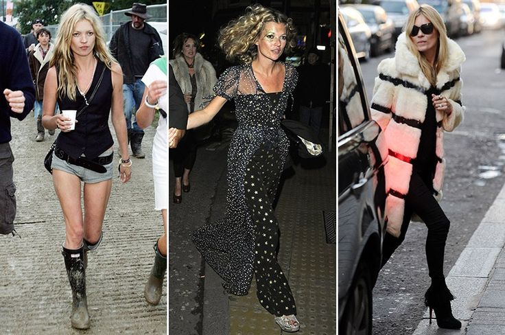 Kate Moss' 11 Best Street Style Outfits Ever (PHOTOS) : Lucky Magazine