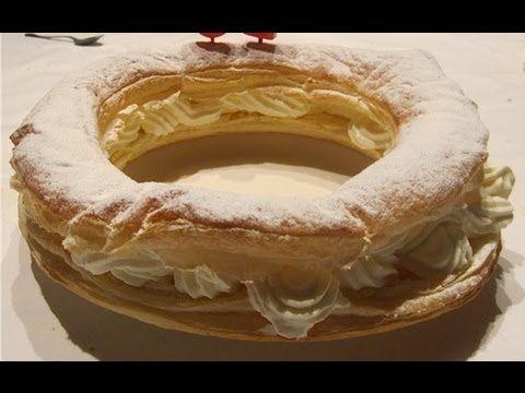 Roscón de Reyes de hojaldre relleno de chocolate ¡Fácil y delicioso! - YouTube