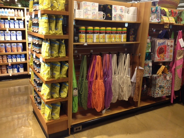 ECOBAGS® string bags™ spotted at Whole Foods in Marlton, NJ!