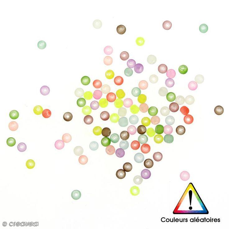 Compra nuestros productos a precios mini Cuentas redondas de cristal satinadas de colores aleatorios -100 uds - 4 mm - Entrega rápida, gratuita a partir de 89 € !