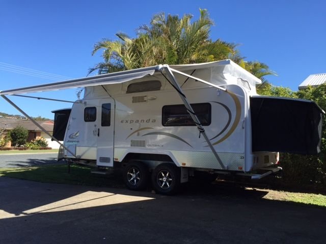 HIRE FROM FORSTER / NSW 2010 Jayco Expanda OB 17-56-2HL (Forster) - Caravan and Camping Hire