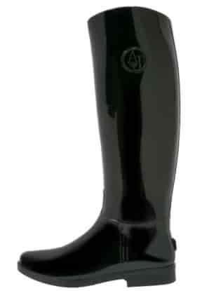 Armani Jeans - Gummistövlar - black