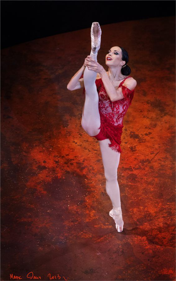 Diana Vishneva in Alberto Alonso's Carmen Suite Photo (c ...