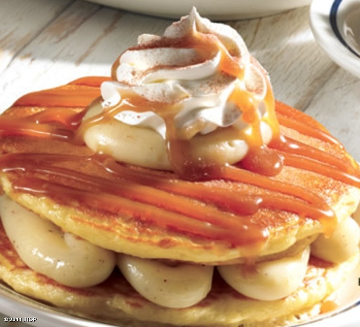 IHOP's EGG NOG PANCAKES! | Christmas - Yummy Stuff | Pinterest
