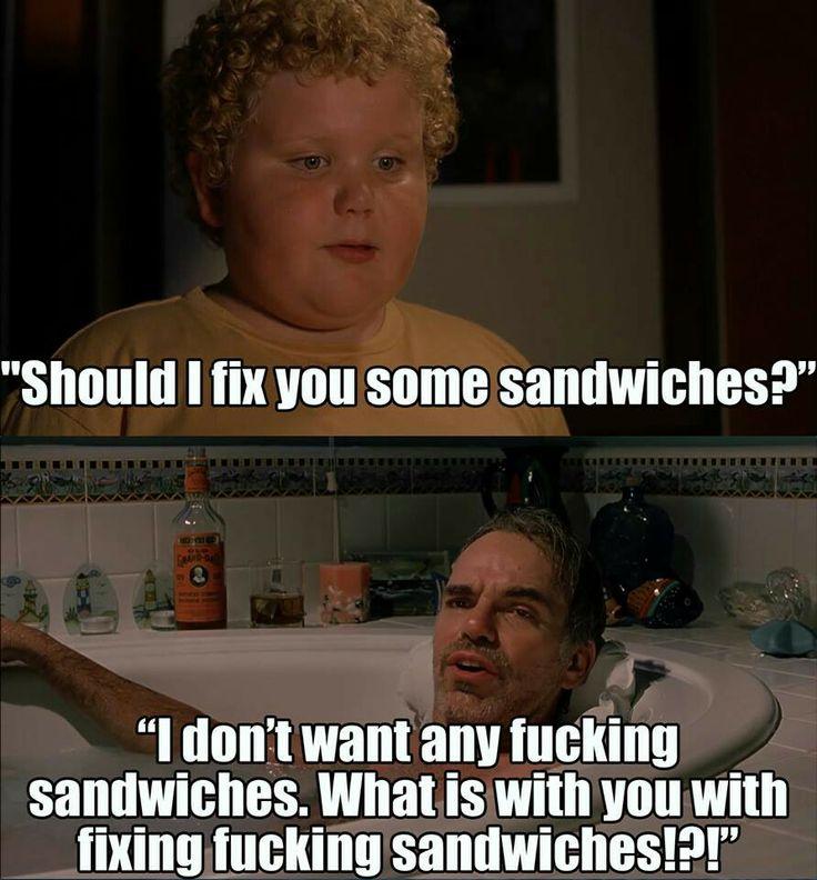 I love bad Santa and yes, i would love a sandwich!