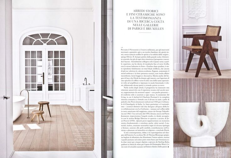 Here is a recent publication of Olivier Dwek Architecture appearing on the cover of the Marie Claire Maison Italy, distributed for the ArtBasel International show 2015. www.olivierdwek.com