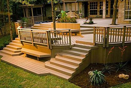 107 best a deck with a view images on pinterest home ideas if you wanting a new deck and would like to do it yourself then you need some good instruction on how to build a deck step by step solutioingenieria Images