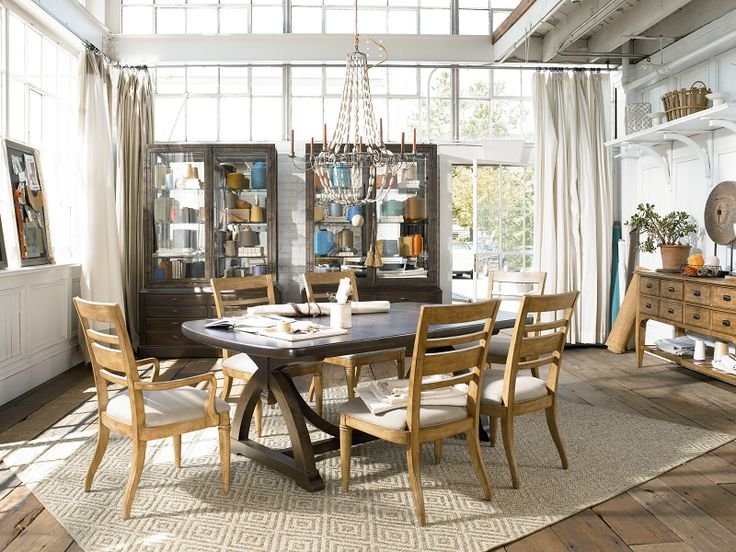 Country Urban Style Dining By