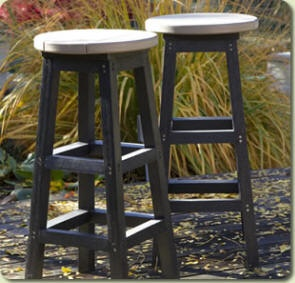C.R.Plastic Products++ Purely functional. If you are looking for a bar stool that is comfortable and long lasting then look no further.
