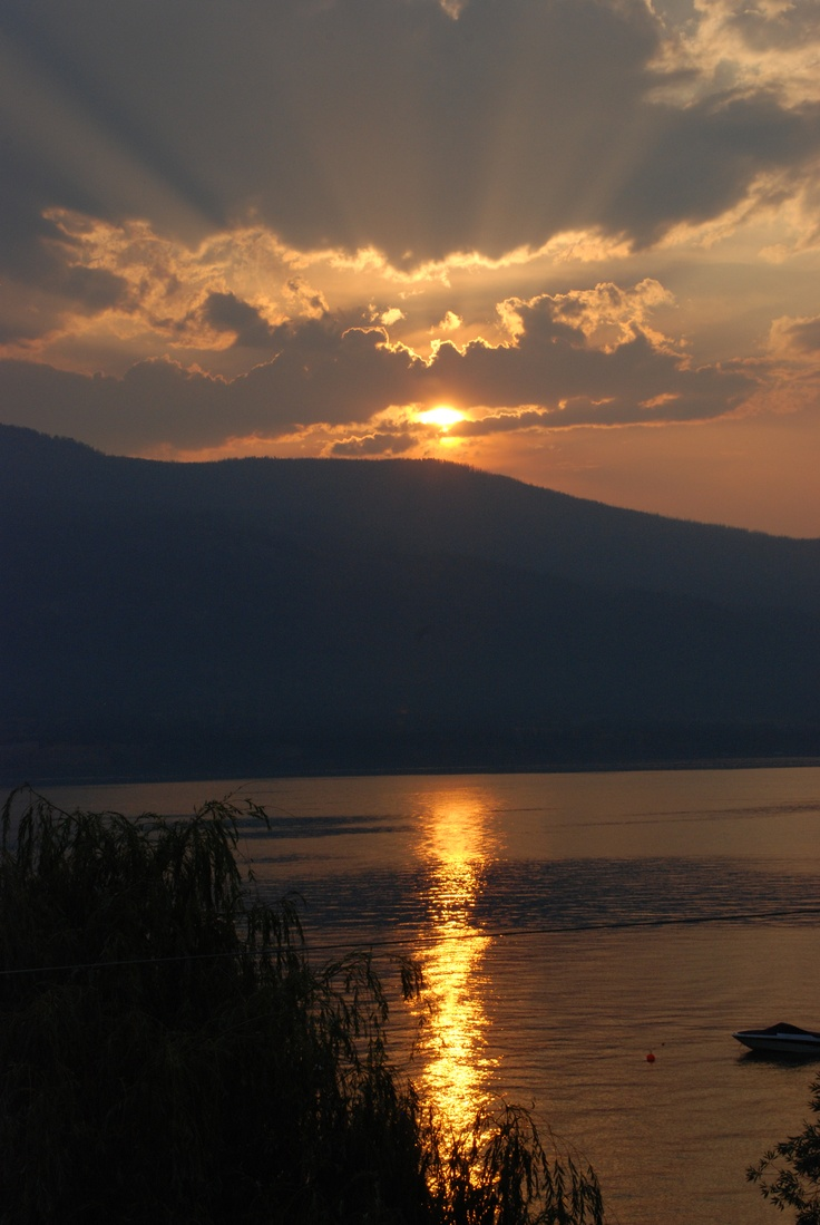 Okanagan Lake, British Columbia
