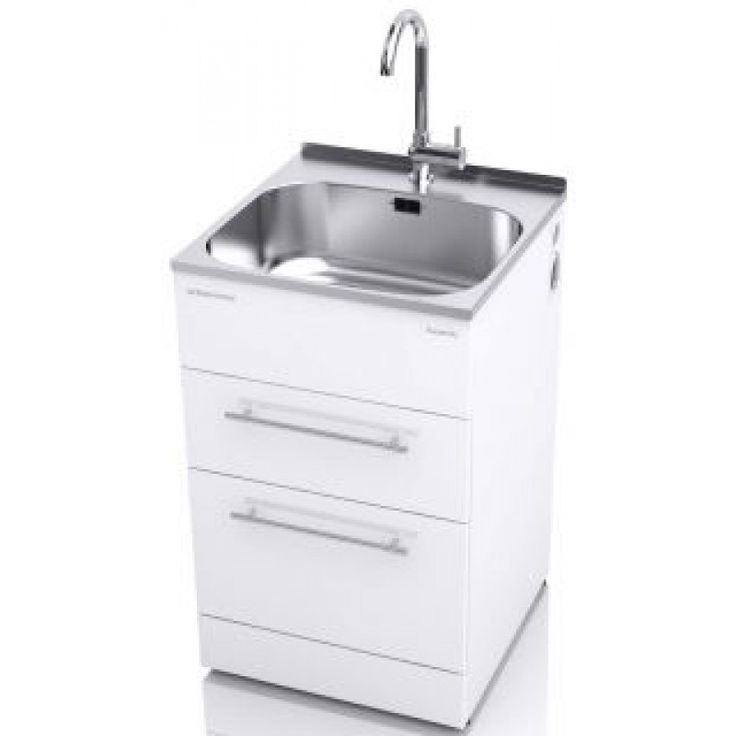 The ST7001 supertub is a great choice for your laundry and comes with a stylish goose neck tap suitable for all water pressures.  The double drawers with their stylish brushed stainless steel handles, are handy for storing all you laundry needs.  It has a clean flat surface area at the rear of the bowl and has a lip designed to be either covered with a Supertub Splashback (SB560B) - an optional extra,  or can be tiled over.  Not only will your Supertub look like an integrated part of your…