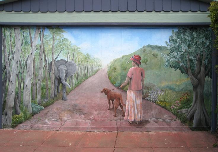 garage door decals great idea - 17 Best images about Garage Door Murals on Pinterest