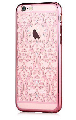 Iphone 6s Plus 5.5 & Iphone 6 Plus Case, Devia® Crystal Baroque Series Unique & Fashion Gradient Design Decorated with Original Swarovski Element Hard Transparent Case (Rose Gold Baroque) Devia http://www.amazon.com/dp/B017R5MHCY/ref=cm_sw_r_pi_dp_O2E2wb0RYQ3Z7