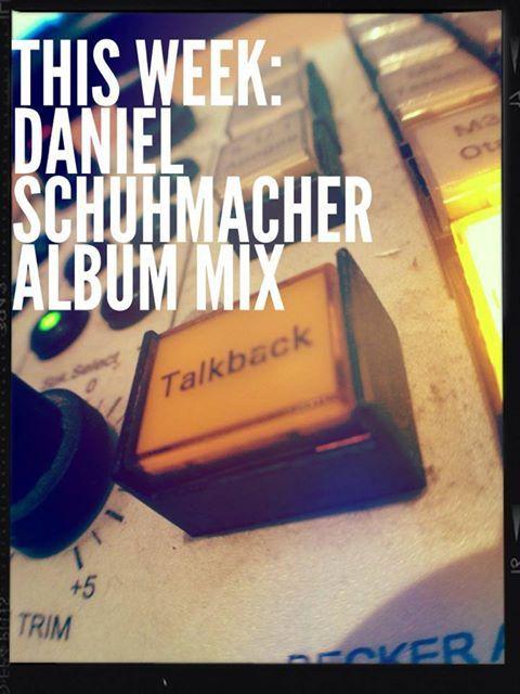 nach 2 tagen Pause wieder in Köln im Studio. Endspurt!   Photo: ©media4u