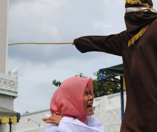 The Aceh Region only started implementing Sharia Law from and it was last October that under the Qanun Jinayat  Islamic Criminal Code  dating in public