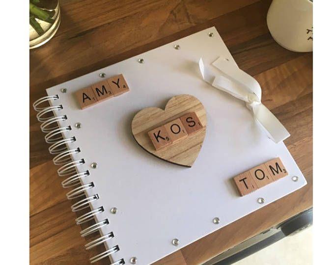 Personalised Scrapbook Album - Handmade Gift