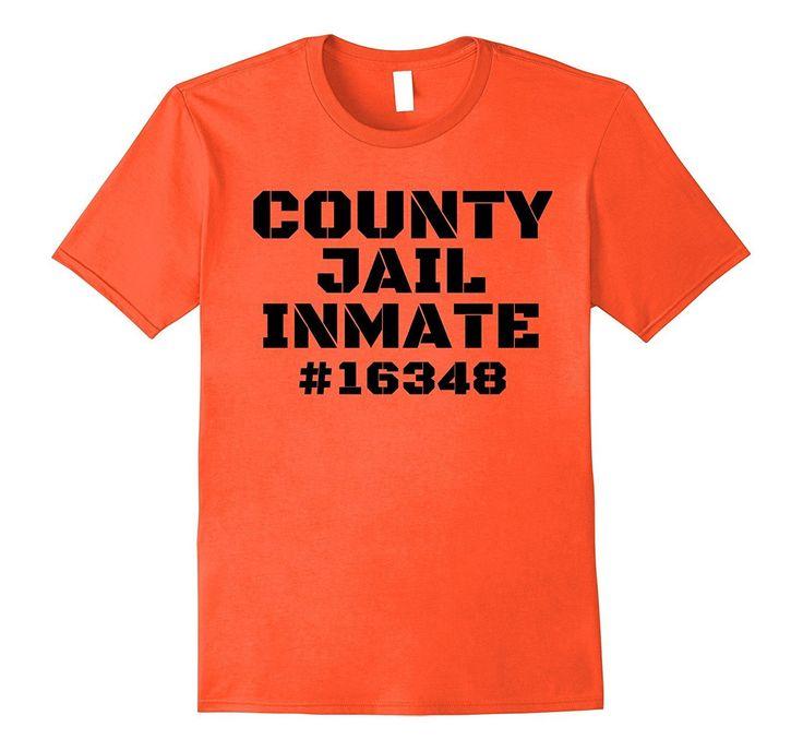 County Jail Inmate Prisoner Prison Costume Halloween