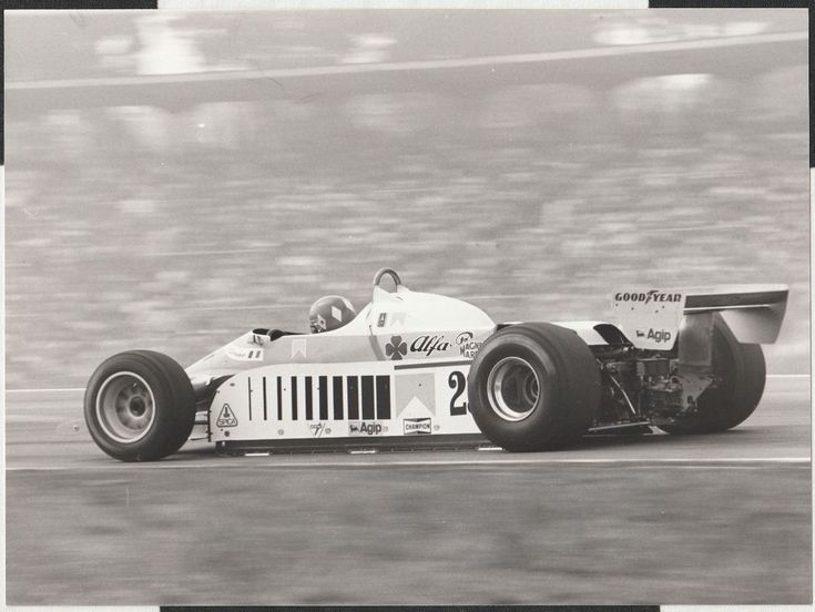 BRUNO GIACOMELLI ALFA ROMEO 179 HOCKENHEIM GERMAN GP 1980 F1 ORIGINAL PHOTOGRAPH