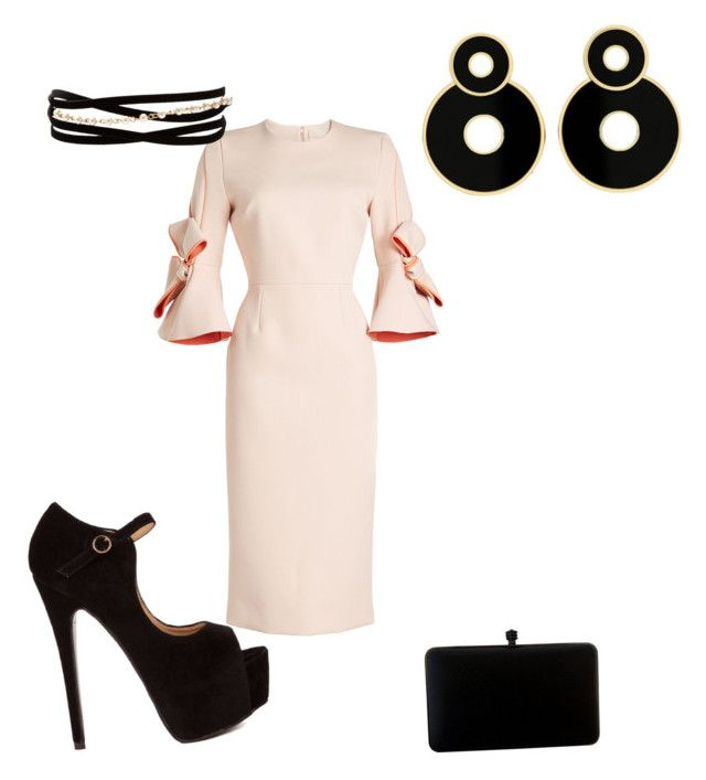 """""""I'm ready!"""" by fifinstyle on Polyvore featuring Roksanda and Kenneth Jay Lane"""