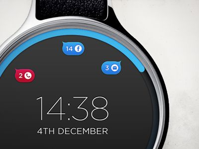cool watch UI