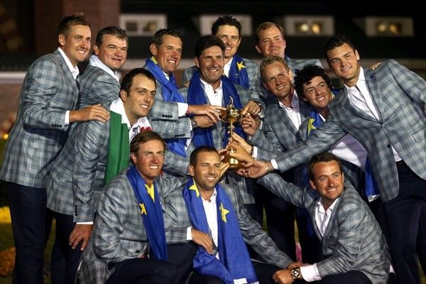 Ryder Cup team Reunited!! All 12 Ryder Cup players and their captain José Maria Olazábal will tee it up in the BMW PGA Championship on May 23-26 2013..