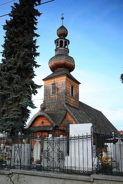 Tg. Mures - Biserica de lemn/The Wooden Church (1794) - Romania