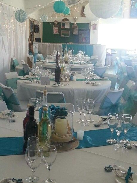 Beautiful teal wedding, The Big Fat Events Company