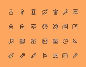 icones, templates, layouts...