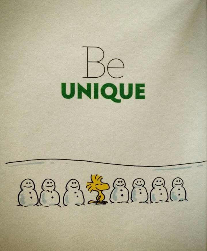 Be Unique ⛄️⛄️⛄️