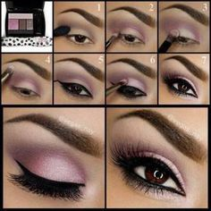 I love this color. It looks good with brown eyes but it's pale enough that it would look good with blonde hair.