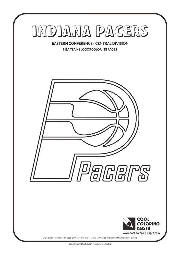 13 best basketball images on pinterest coloring pages for Indiana pacers coloring pages
