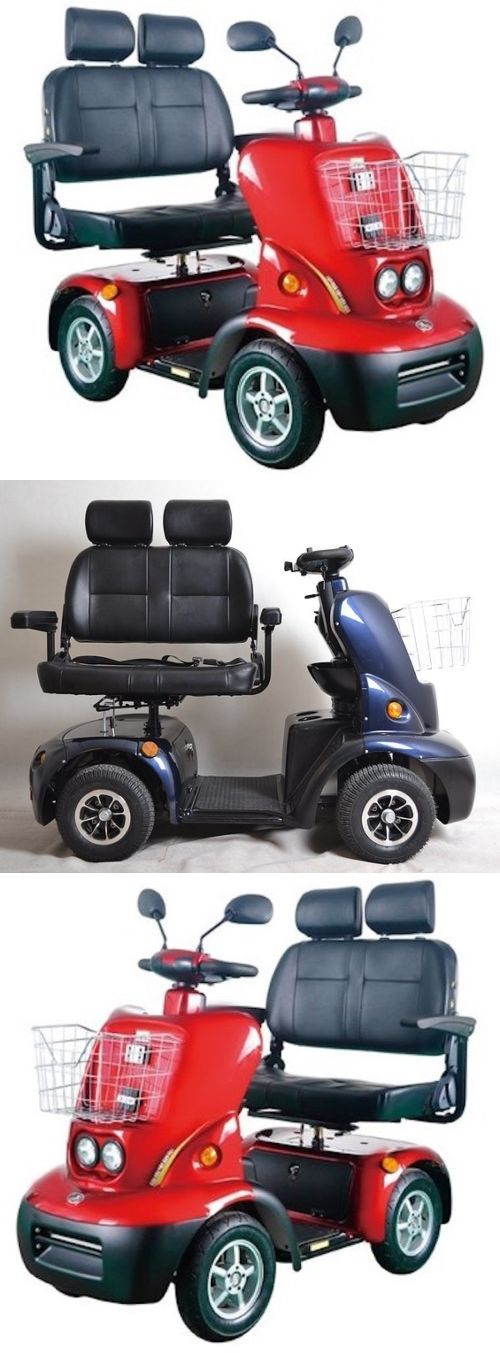 Mobility Scooters: Lovebird 2 Seater, 4 Wheel Electric Mobility Scooter BUY IT NOW ONLY: $4995.0