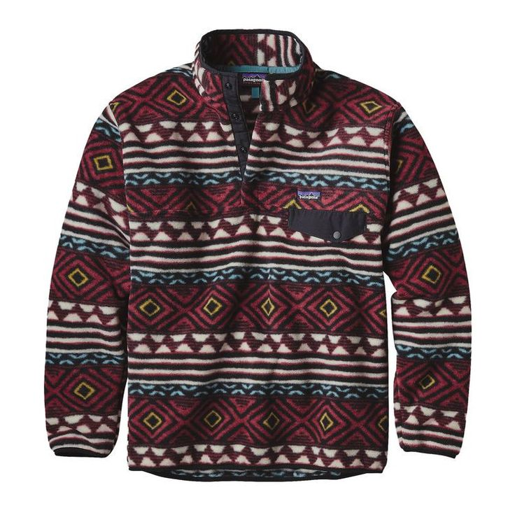 Patagonia Men's Synchilla Snap-T Fleece Pullover- Saltillo Cinder Red