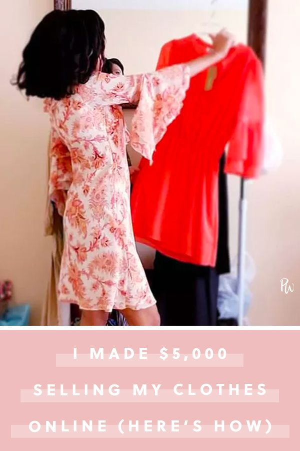 I Made 5 000 Selling Clothes From My Closet Online Here S How Selling Used Clothes Sell My Clothes Selling Used Clothes Online