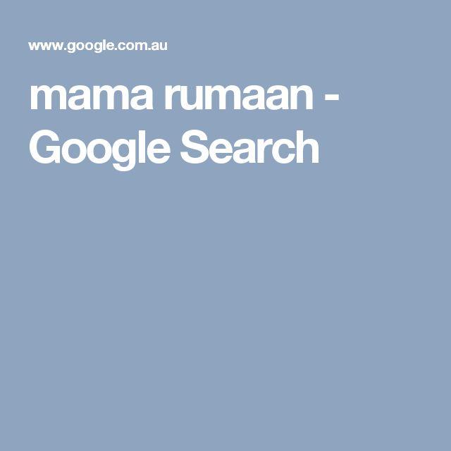 mama rumaan - Google Search