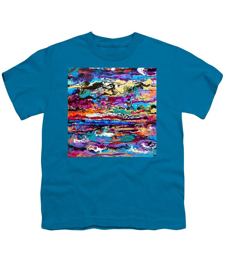 Purchase a youth t-shirt featuring the image of #521  Bright Swipe by Expressionistart studio Priscilla Batzell.  Available in sizes S - XL.  Each youth t-shirt is printed on-demand, ships within 1 - 2 business days, and comes with a 30-day money-back guarantee.