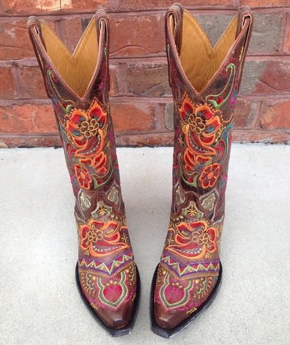 a4d9557cc07 Old Gringo Olivia Brass Boots L1629-3 in 2019 | bootz | Boots, Shoe ...
