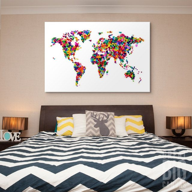 95 best map art images on pinterest family rooms framed art michael tompsett brings us a variety of creative maps to fit any decor style like gumiabroncs Images