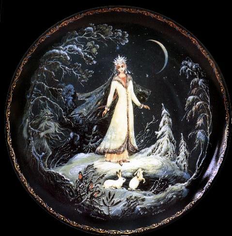 Snegurochka (the Snow Maiden) unknown artist