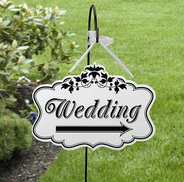 1 Х Персонализированные свадьбы вывеска (двойной сталкиваются) ПВХ материал с мути варианты Свадебные Украшения(China (Mainland))