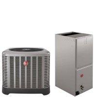 2.5 Ton Rheem 15.5 SEER R410A Heat Pump Split System