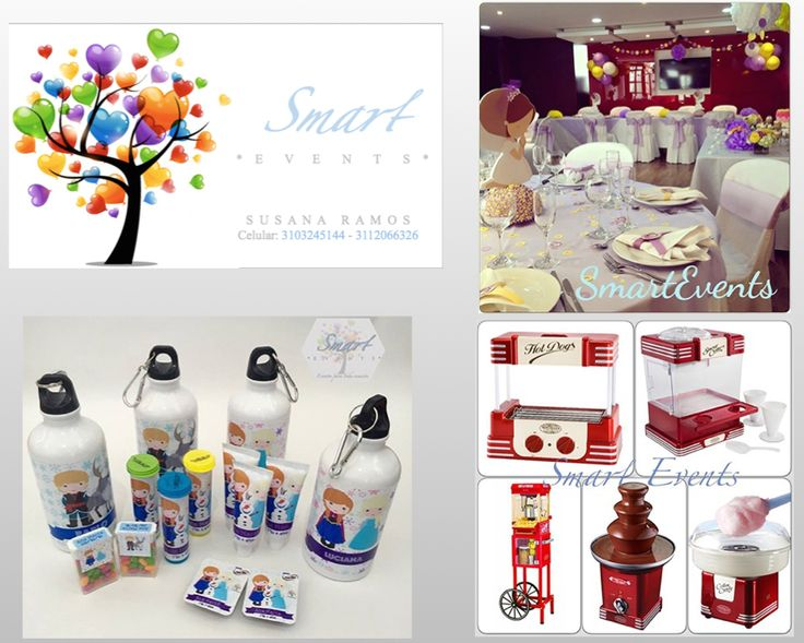 SMART EVENTS. Organización  y coordinación de eventos mágicos y memorables.(311)2066326 smarteventsbta@gmail.com Facebook: Smart Events Instagram@smarteventsbta