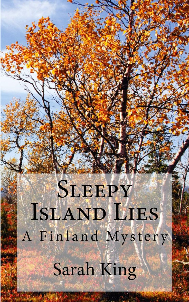 New cover for my latest novel Sleepy Island Lies!