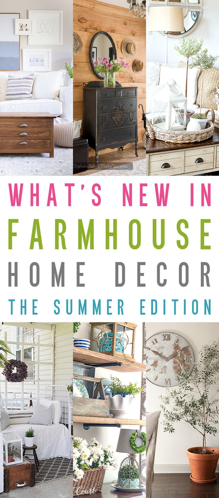 What's New In Farmhouse Home Decor The Summer Edition