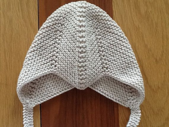 Baby boy hat,Baby boy helmet hat,Hand Knit earflap hat,Made to order Baby b...