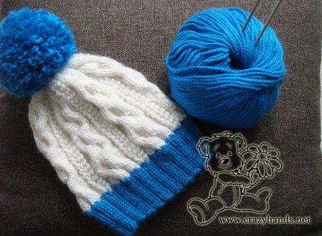 Mejores 7 imágenes de knitting en Pinterest | Sombreros de punto ...