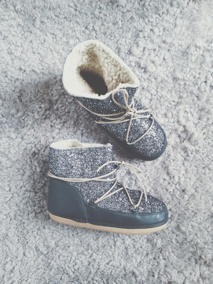 Moon boots Anniel à paillettes !