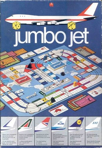 Jumbo Jet board game | Image | BoardGameGeek